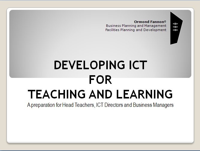 ICT Development Cover For Website
